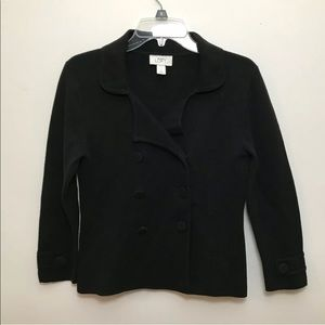 Ann Taylor Loft Double Breast Button Sweater